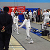 Elizabeth Wiggins in the Y14 Women's Epee.