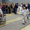 Alexis Sandler in the Y12 Women's Epee.