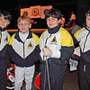 The CCFC fencers in the Y10 Men's Epee.  From left: Romain Hufbauer, Carter Tate, Levi Freedman, and Rory Hagerty.
