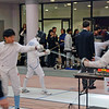 Cameron Sullivan in the Y14 Men's Epee.
