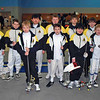 The CCFC fencers entered in the Y12 Men's Epee.  From left: Kenneth Hill, Cole Masse, Simon Hardy, Cameron Price, Cameron Sullivan, Jared Rosen, Jacob Drozdowski, Levi Freedman, Alexander Cohen and Carter Tate.  Not pictured: Jacob Roberts.