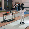 Jared Rosen in the Y12 Men's Epee.