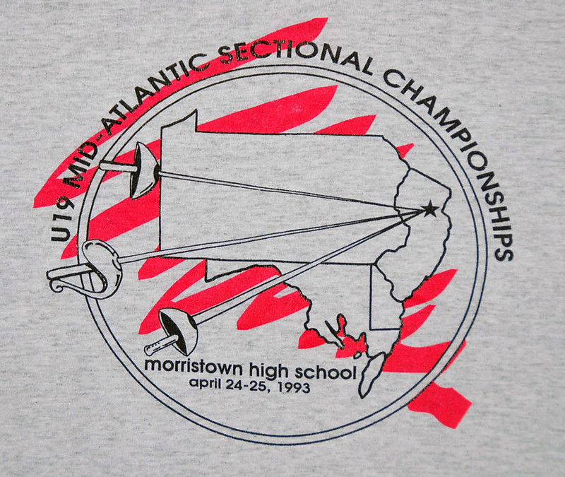 1993 Jr Sectionals Morristown NJ