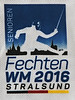 2016 Veteran World Championships - Stralsund, Germany - Front