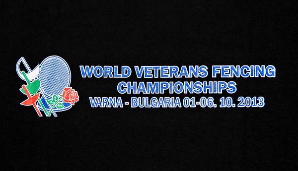 2013 Veteran World Championships - Varna, Bulgaria - Back