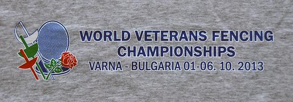 2013 Veteran World Championships - Varna, Bulgaria (B) - Back