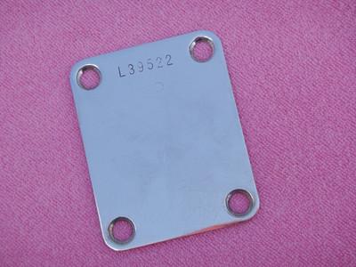 1964 Fender Neck Plate