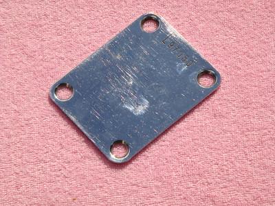1965 Fender Neck Plate