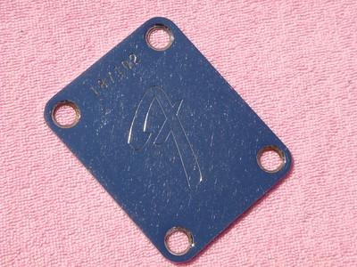 1967 Fender back plate