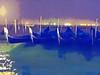 Gondolas at Night
