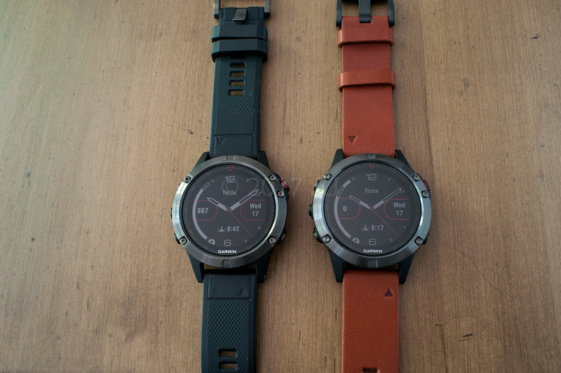 Pics Of Fenix 5 Sapphire With Metal Leather And Amp Yellow Bands