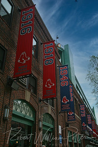 6152-Championship banners at Fenway Park