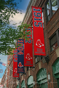 6149-Championship Banners at Fenway Park