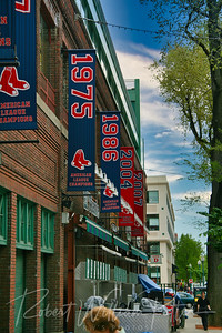 6150-Championship Banners at Fenway Park