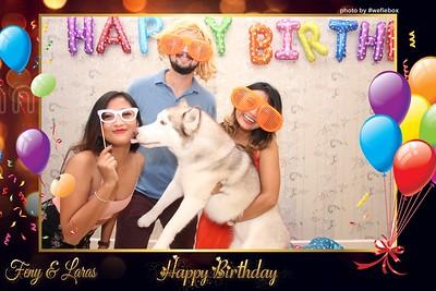 Feny & Laras Birthday Photo Booth - Chụp hình in ảnh lấy li�n Tiệc Cưới