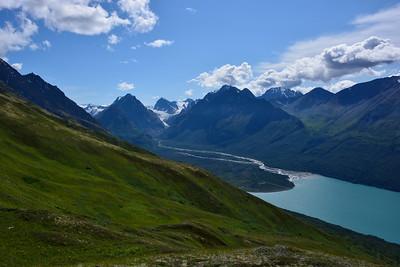 The Mitre, Eklutna Glacier, Benign Peak og Eklutna Lake