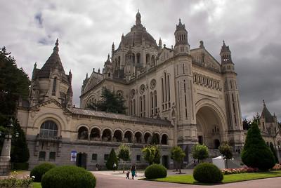 Basilique de Sainte-Thérèse. Lisieux