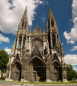 Saint Ouen kirkjan  (14.-16. öldin)