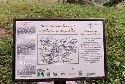 La Vallée du Ferrand le Chemin des Protestants
