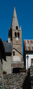 Kirkjan í Mont-de-Lans