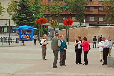 Margar myndir voru teknar á Plaza de Toros