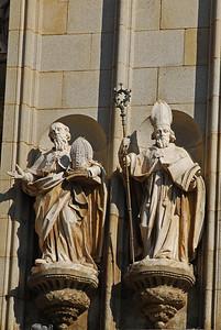 Dýrlingar á dómkirkjunni í Toledo