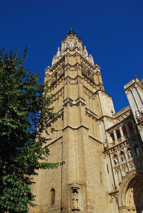 Annar turninn á dómkirkjunni í Toledo