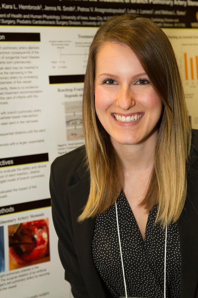 Ferentz Undergrad Research Fellowship Winners_stu_Lisa Fasone_2015_4885