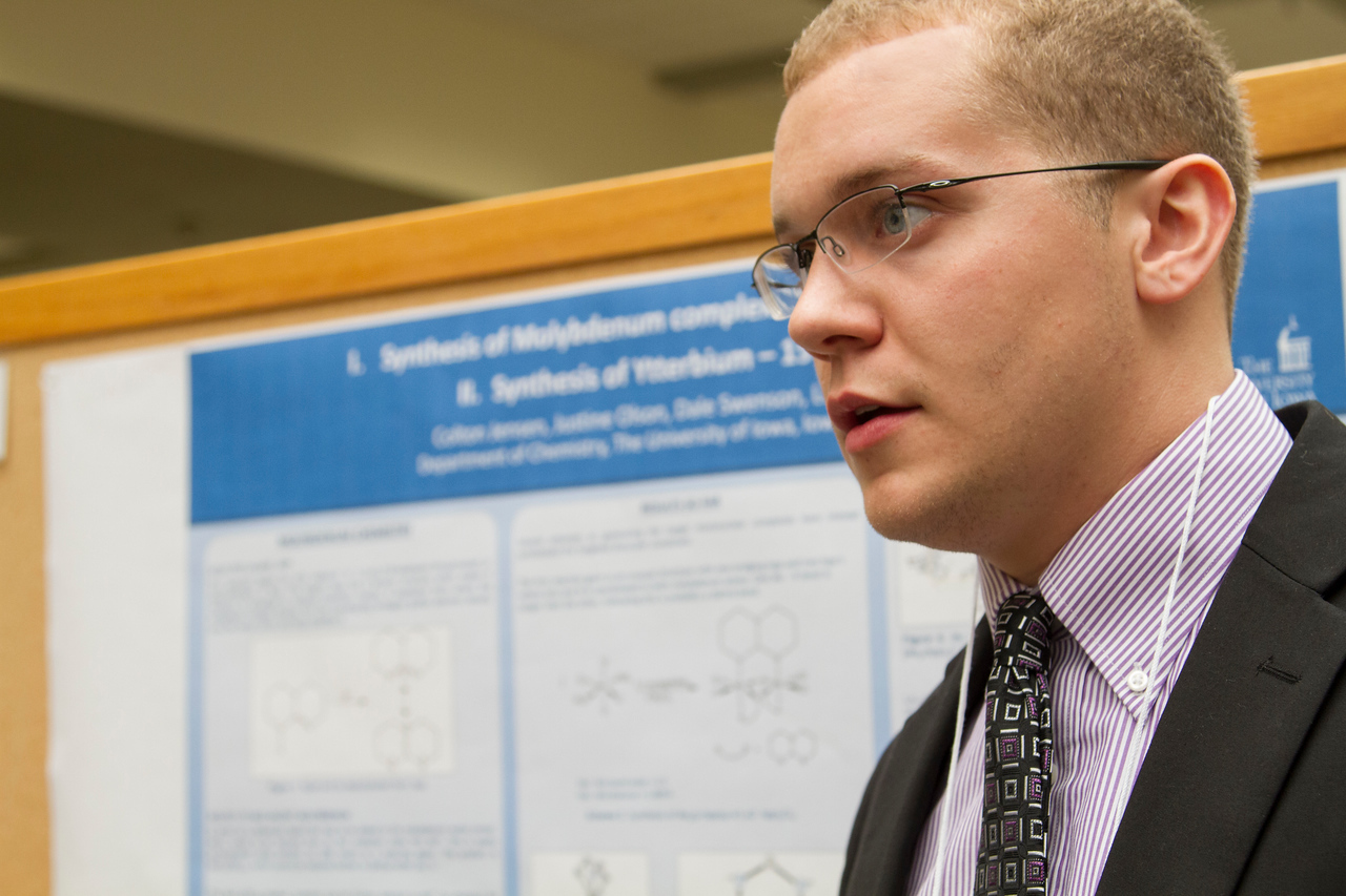 Ferentz Undergrad Research Fellowship Winners_stu_Colton Jensen_2015_4494