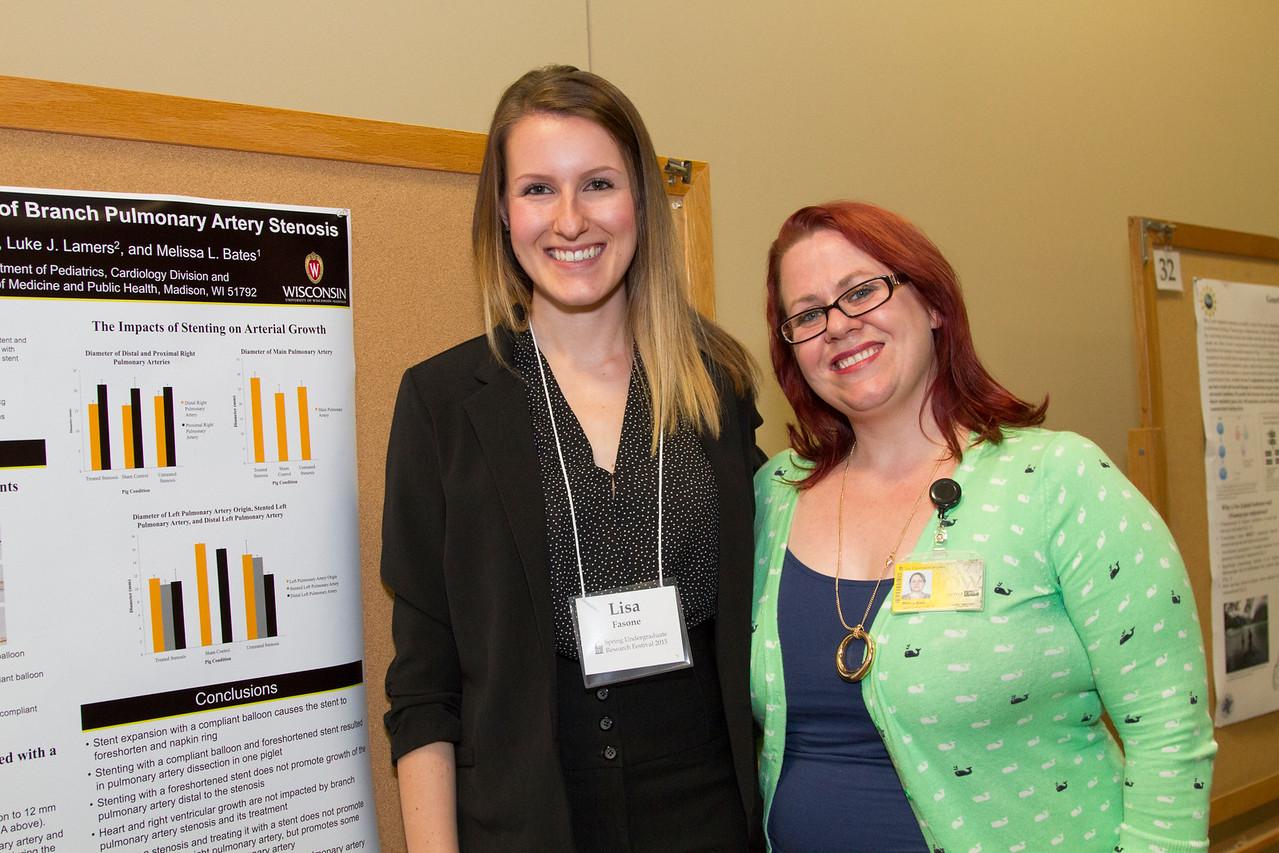 Ferentz Undergrad Research Fellowship Winners_stu_Lisa Fasone_2015_4876
