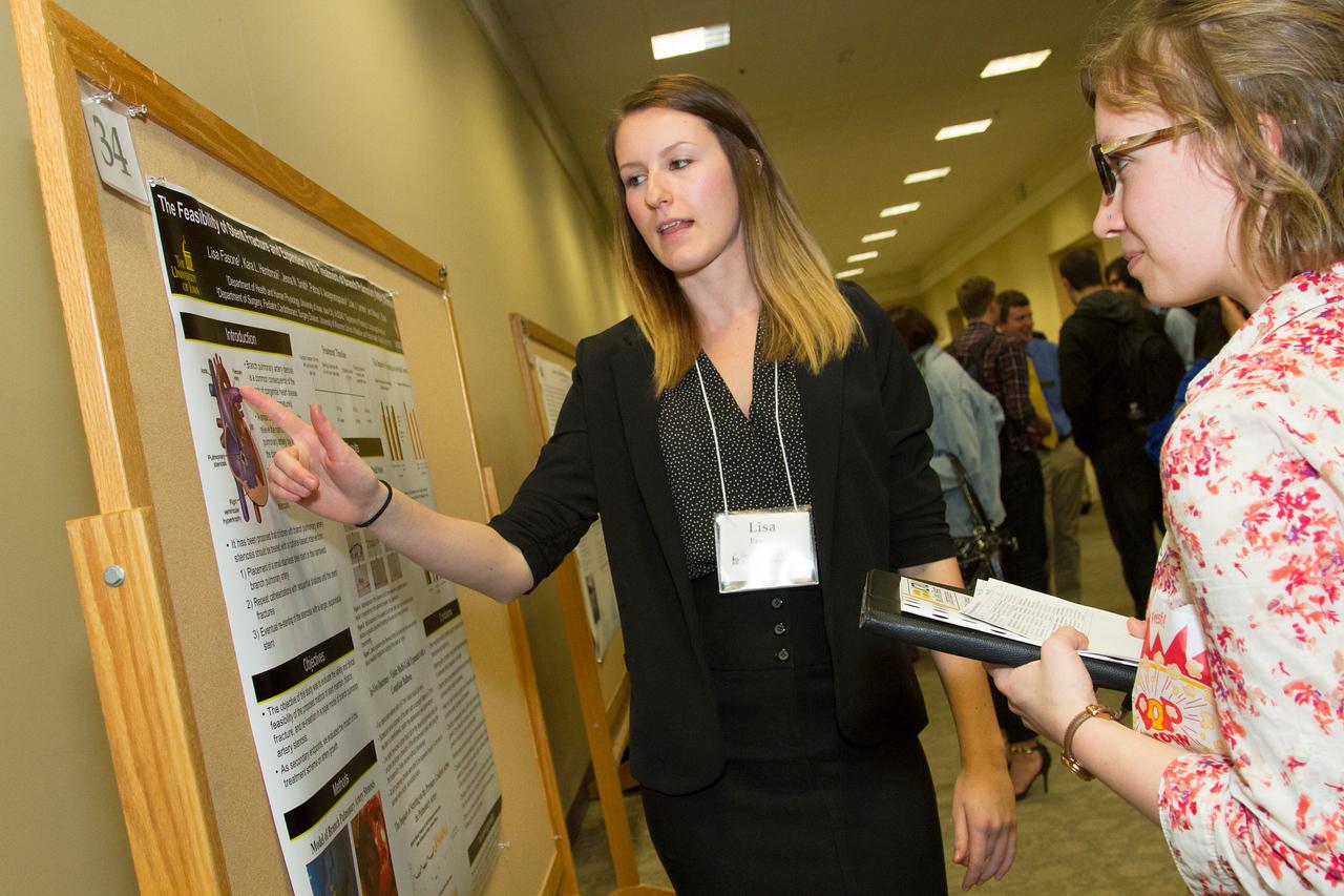Ferentz Undergrad Research Fellowship Winners_stu_Lisa Fasone_2015_4900