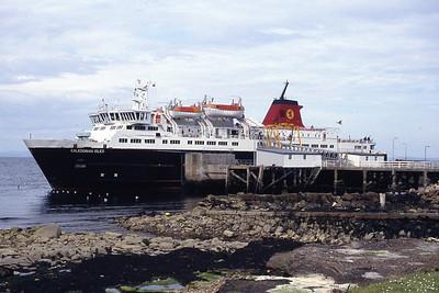 Caledonian MacBrayne MV Caledonian Isles Brodick Pier May 94