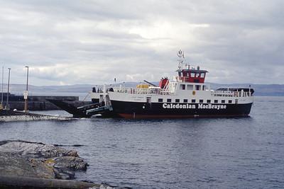 Caledonian MacBrayne MV Loch Tarbert Lochranza Pier Apr 93