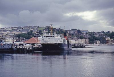 Caledonian MacBrayne MV Pioneer Rothesay Harbour Jul 93