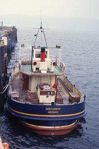 Clyde Marine MV Kenilworth Gourock Pier Mar 93
