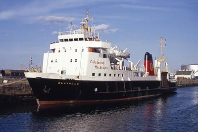 Caledonian MacBrayne MV Claymore James Watt Dock Greenock Jun 94