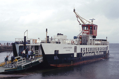 Caledonian MacBrayne MV Loch Striven Largs Jul 93