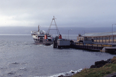 Caledonian MacBrayne MV Juno Wemyss Bay Mar 93