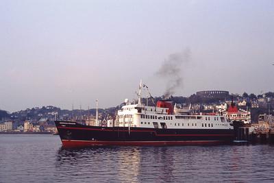 Hebridean Island Cruises MV Hebridean Princess Oban May 1991