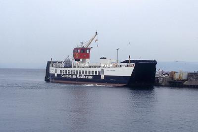 Caledonian MacBrayne MV Loch Striven Largs May 91