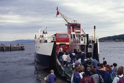Caledonian MacBrayne MV Loch Striven Largs Slipway May 94