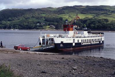 Caledonian MacBrayne MV Loch Riddon Rhubodach Jul 93