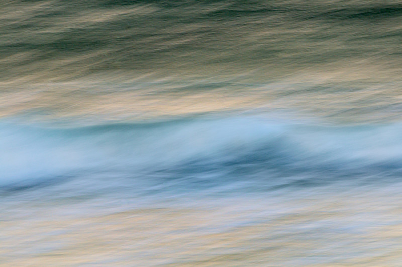 Abstract wave photograph, Isle of Vatersay.