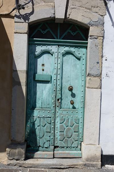 Døren i Aveyron - juli 2014