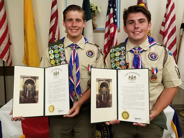 Ternent Eagle Scouts