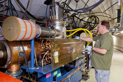 Measuring Radiation at a Booster RF Cavity