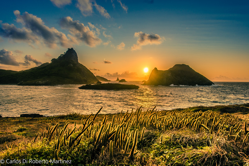 Sunrise at Baia do Sueste