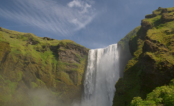 Chute Skógafoss, Islande