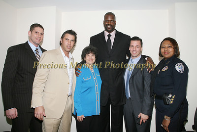 IMG_3860 Benjamin Head,Christian Matteis,Mayor Lois Frankel,Shaquille O'Neal,Al Palagonia,Chief of Police Delsa Bush