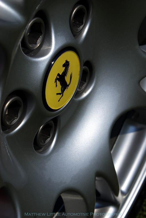 2004 Ferrari 360 Challenge Stradale detail